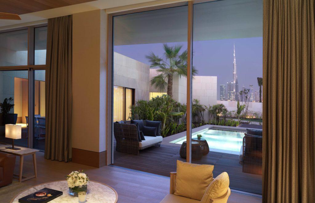 Bulgari v Dubaji: výlučnost kousek od ruchu velkoměsta
