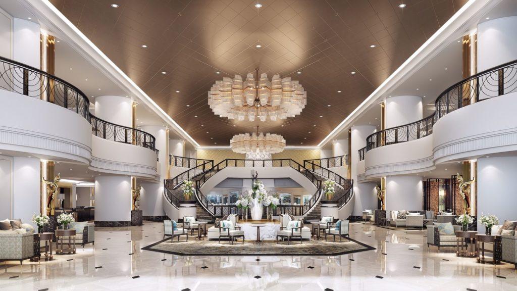 Athenee, Bangkok: design v královském stylu