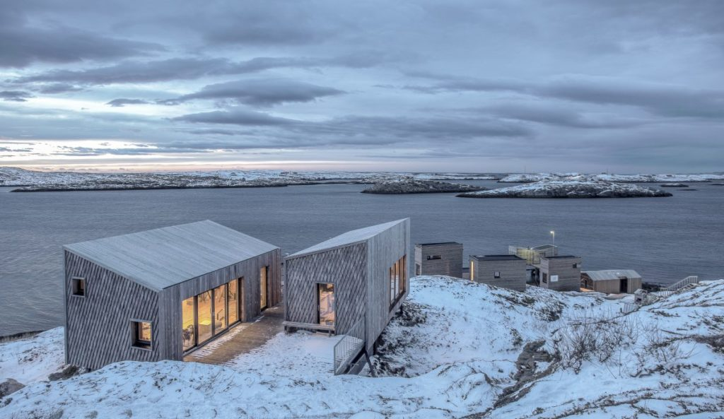 Fordypningsrommet, Norsko: Od prosince do ledna tu slunce nevyjde