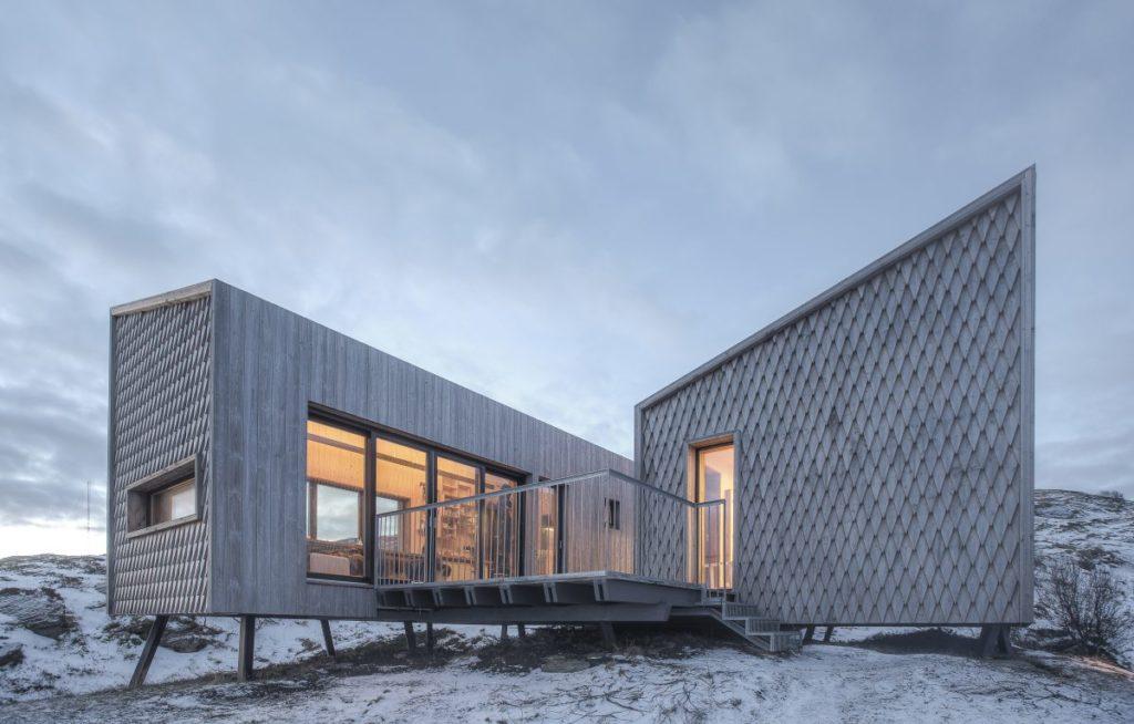 Fordypningsrommet, Norsko: Minimalistická architektura v minimalistickém prostředí