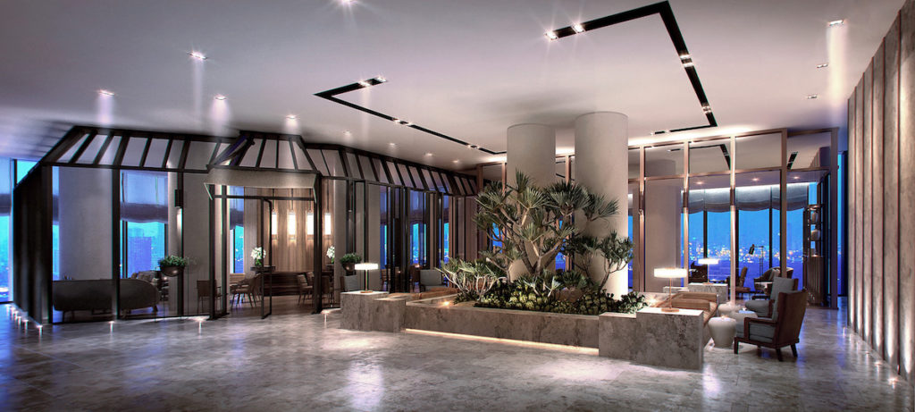 Andaz, Singapur: lounge