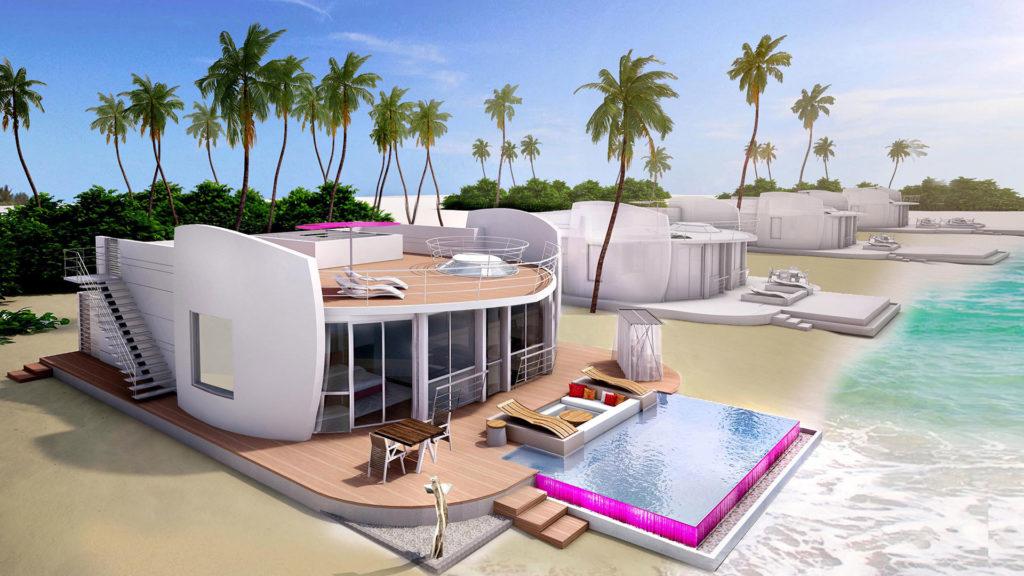 LUX* North Male Atoll, Maledivy: celkem 60 rezidencí