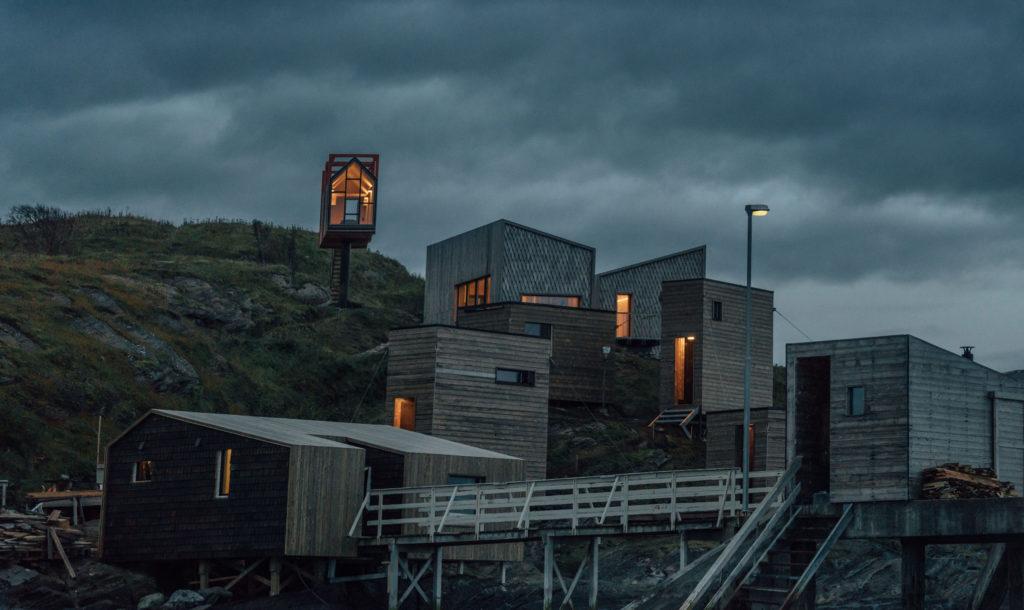 Fordypningsrommet, Norsko: daleko od lidí