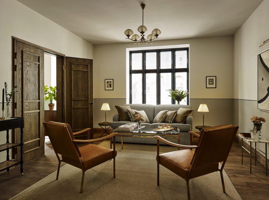 Sanders, Kodaň: apartmá
