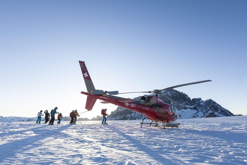 Ze Svatého Mořice létá Swiss Helicopter