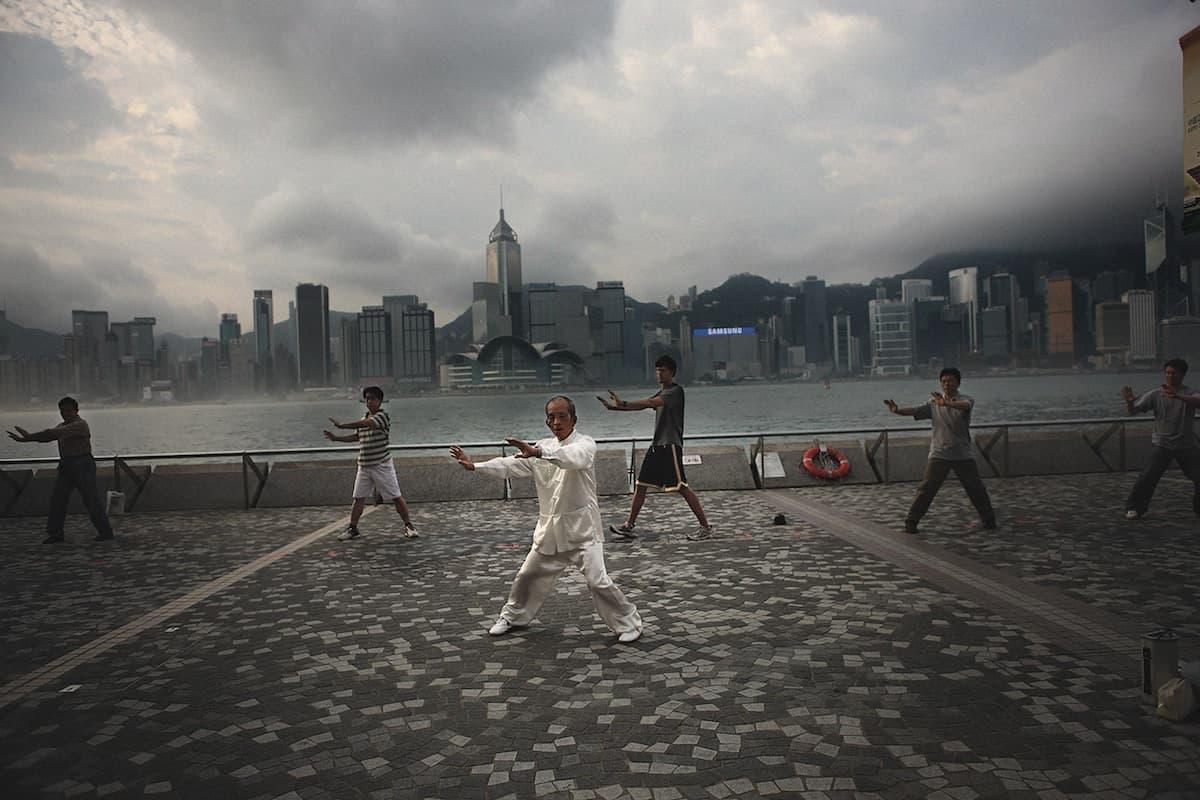 Hongkong, oblíbená destinace Davida Edera