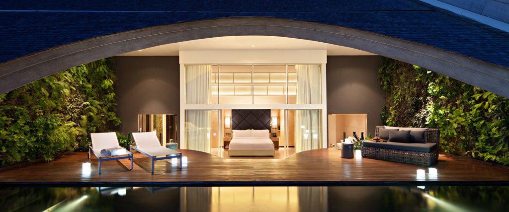 COMO Uma Canggu: hlavní ložnice ve vile