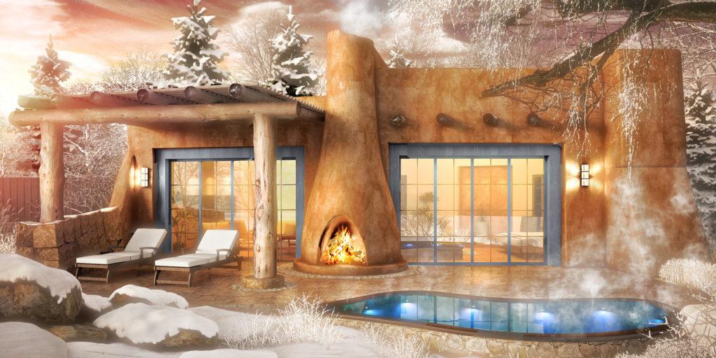 Bishop`s Lodge, Santa Fe, Nové Mexiko: spa
