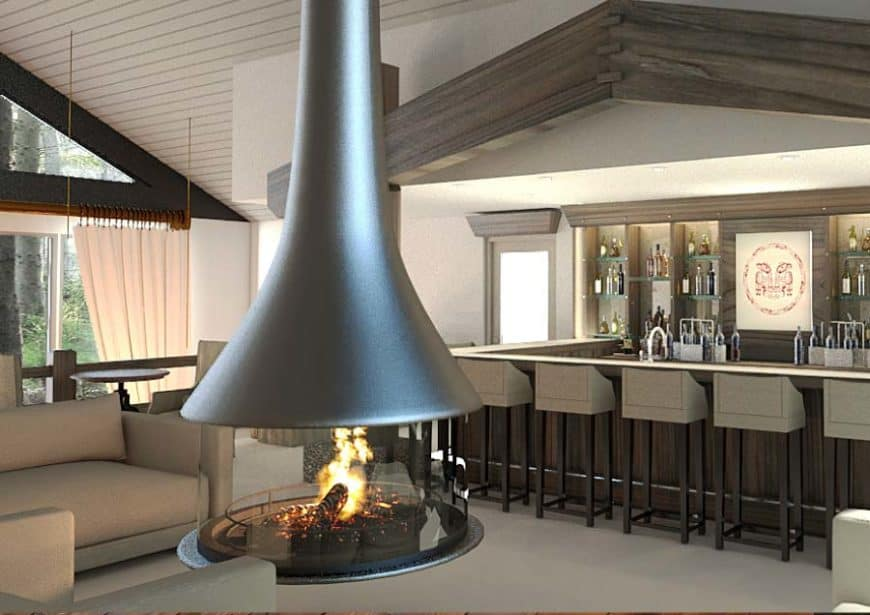Ocean House, Haida Gwaii, Kanada: lounge