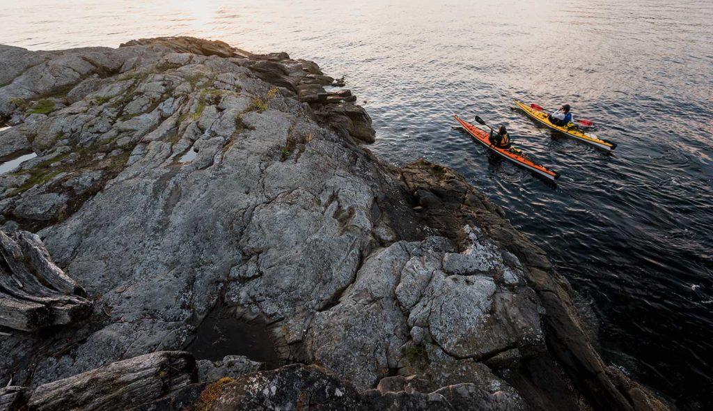 Ocean House, Haida Gwaii, Kanada: výlet na kajaku