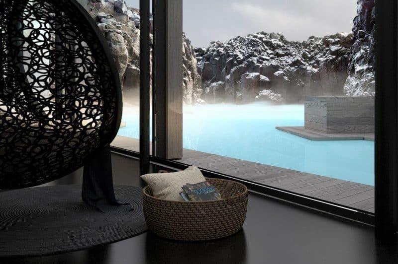 Retreat, Island: francouzská okna v každém suitu