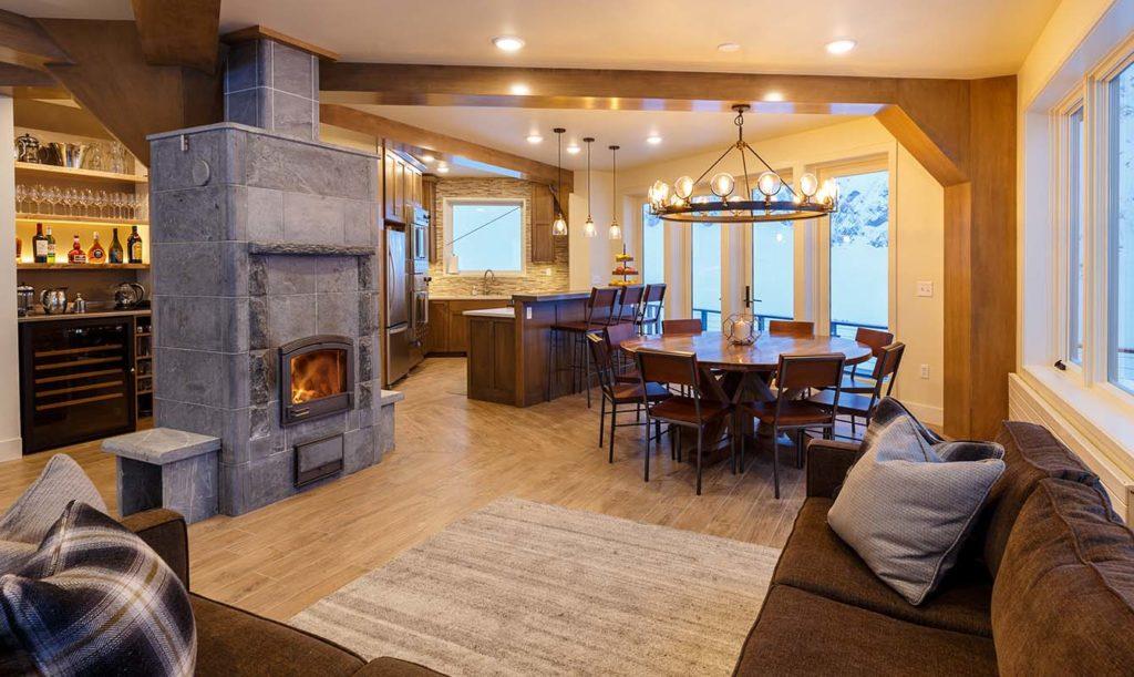 Sheldon Chalet, Aljaška: společné prostory