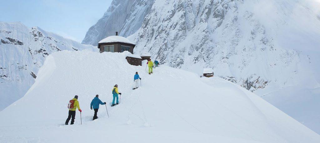 Sheldon Chalet, Aljaška: túry na sněžnicích