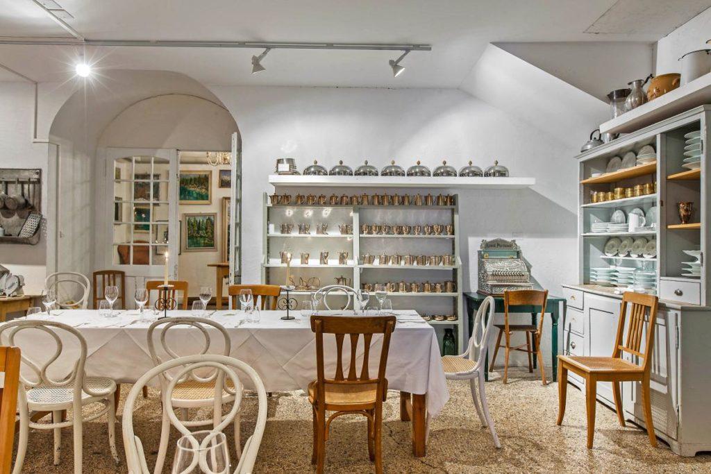 Waldhaus Flims, Švýcarsko: restaurace s kusem historie
