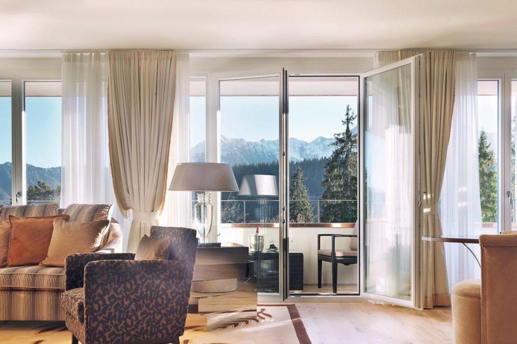 Waldhaus Flims, Švýcarsko: nová sláva starých lázní