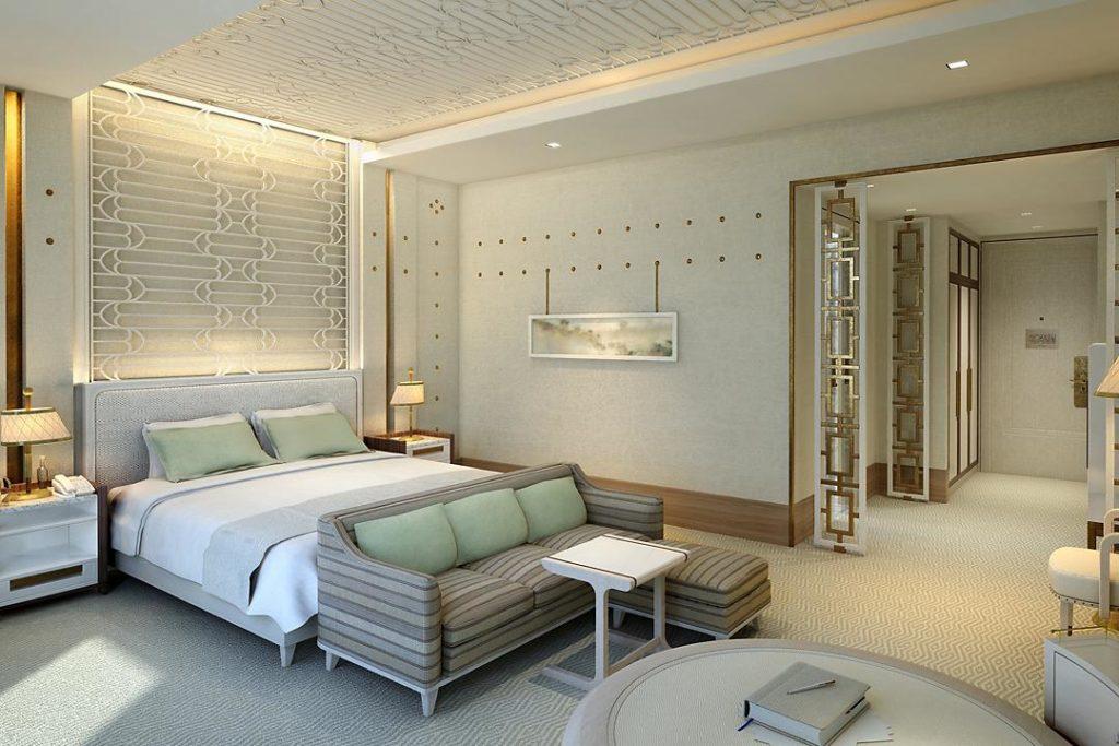 Mandarin Oriental, Dauhá: nejobyčejnější pokoj
