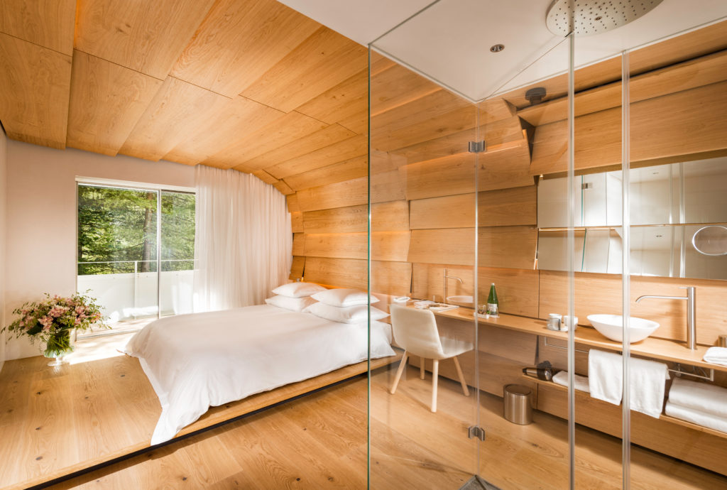 7132 Hotel, Vals, Švýcarsko: Kengo Kuma