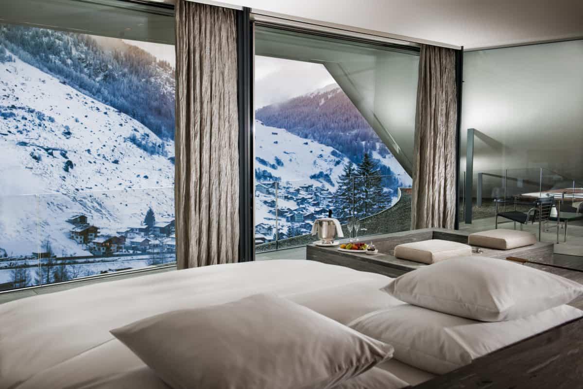 7132 Hotel, Vals, Švýcarsko: prezidentský suit Kenga Kumy