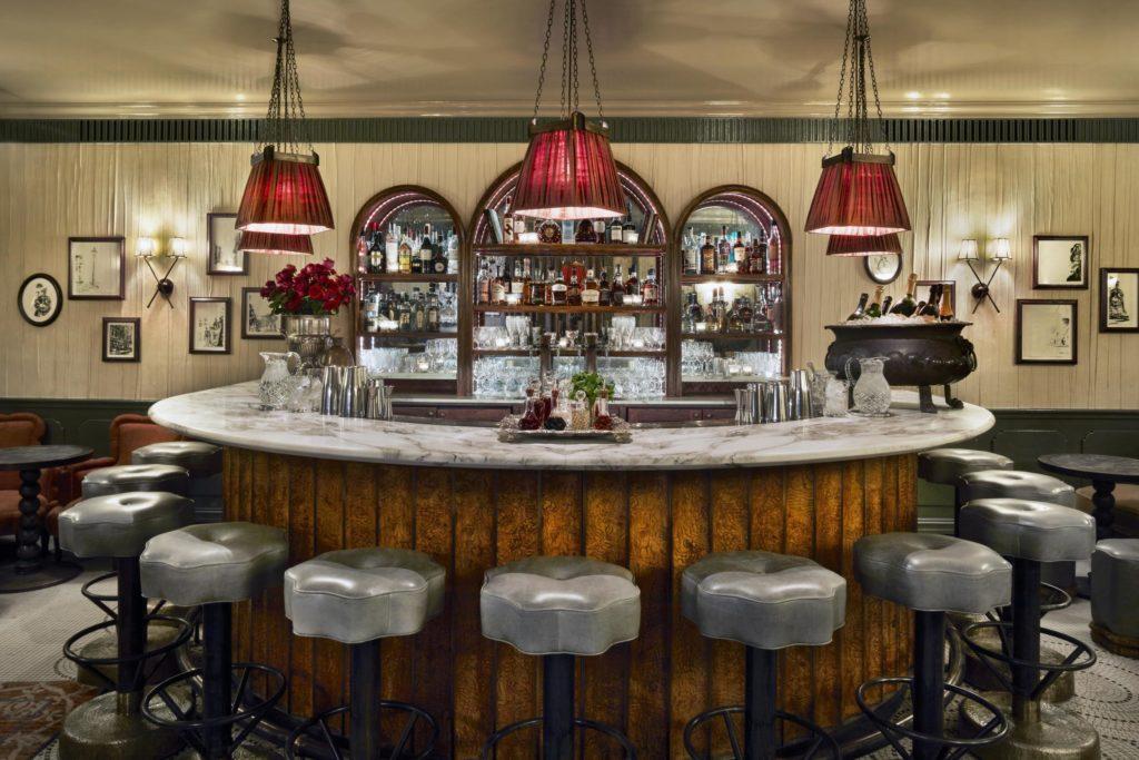 Kettner`s Townhouse, Londýn: šampaňský bar