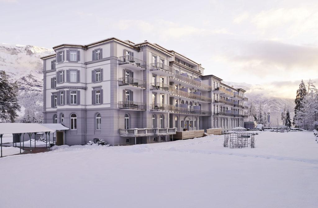 Waldhaus Flims, Švýcarsko: atmosféra Kouzelného vrchu