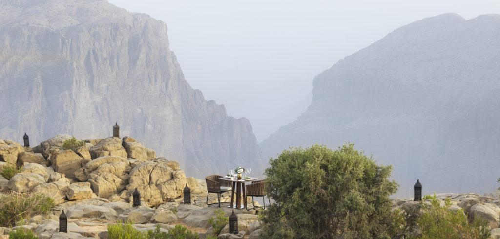Anantara Džebel Achdar, Omán: vysoko v horách