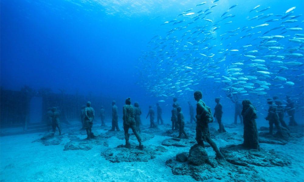 Sirru Fen Fushi, Maledivy: první muzeum podmořského výtvarného umění