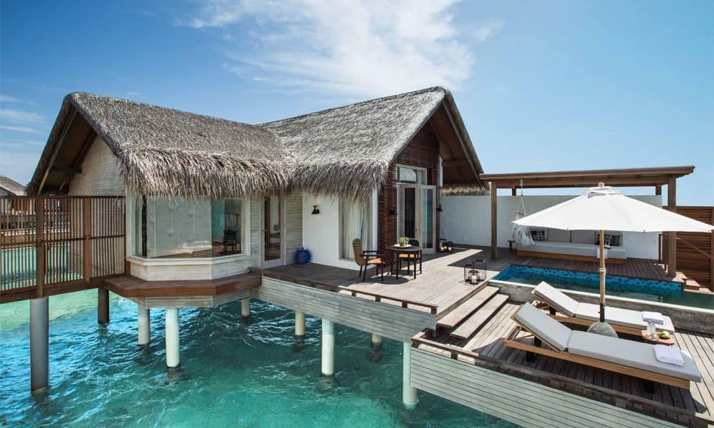 Sirru Fen Fushi, Maledivy: vodní vila