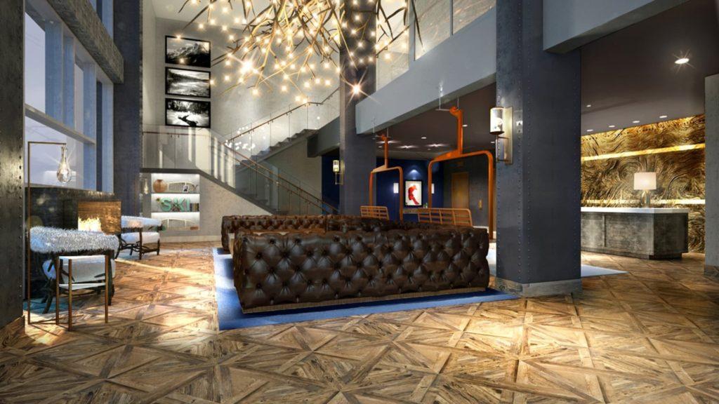 The Jossie, Rossland, Britská Kolumbie: lobby