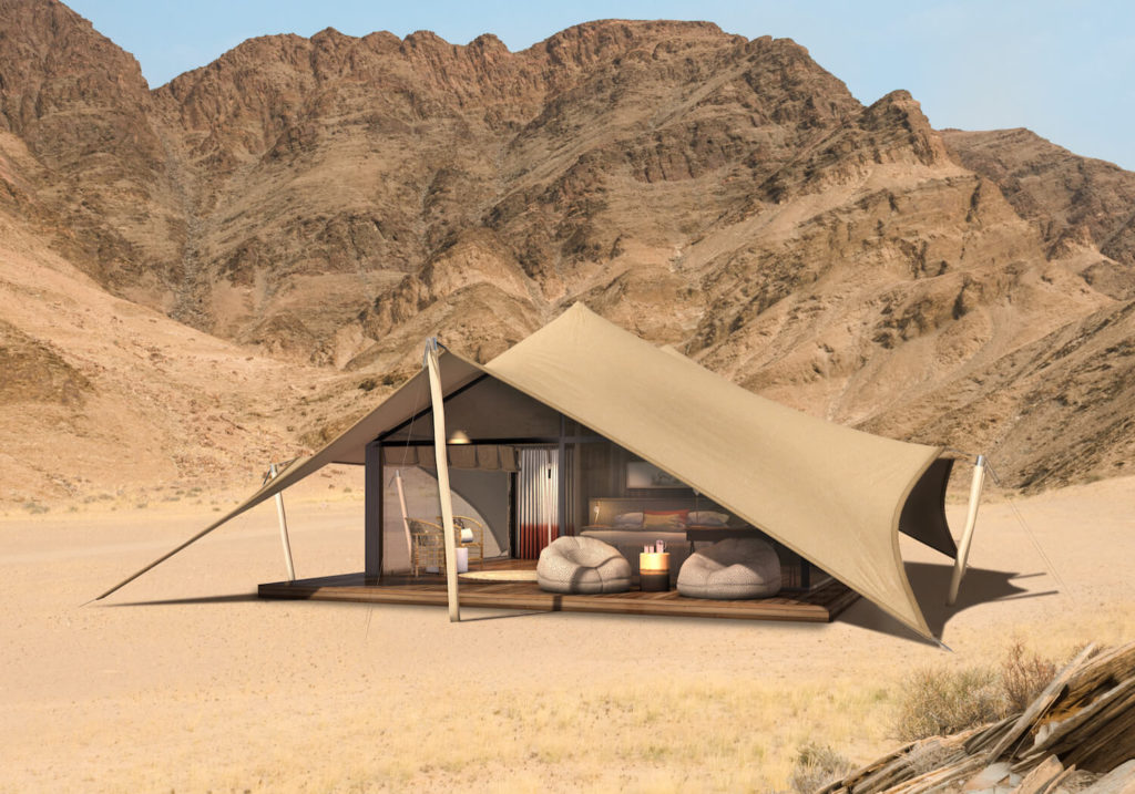 Hoanib Valley, Namibie: