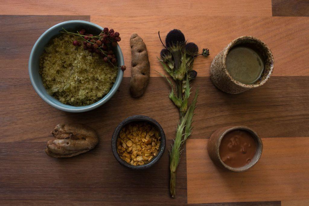 Mil, Moray, Cuzco: nejčastější suroviny jsou zelenina, hlízy a obilí