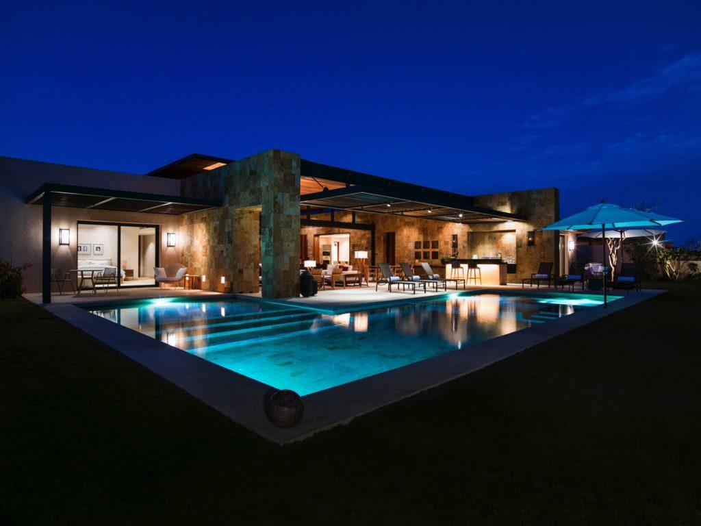 Ritz-Carlton, West Enclave, Mexiko: každá vila má vlastní bazén