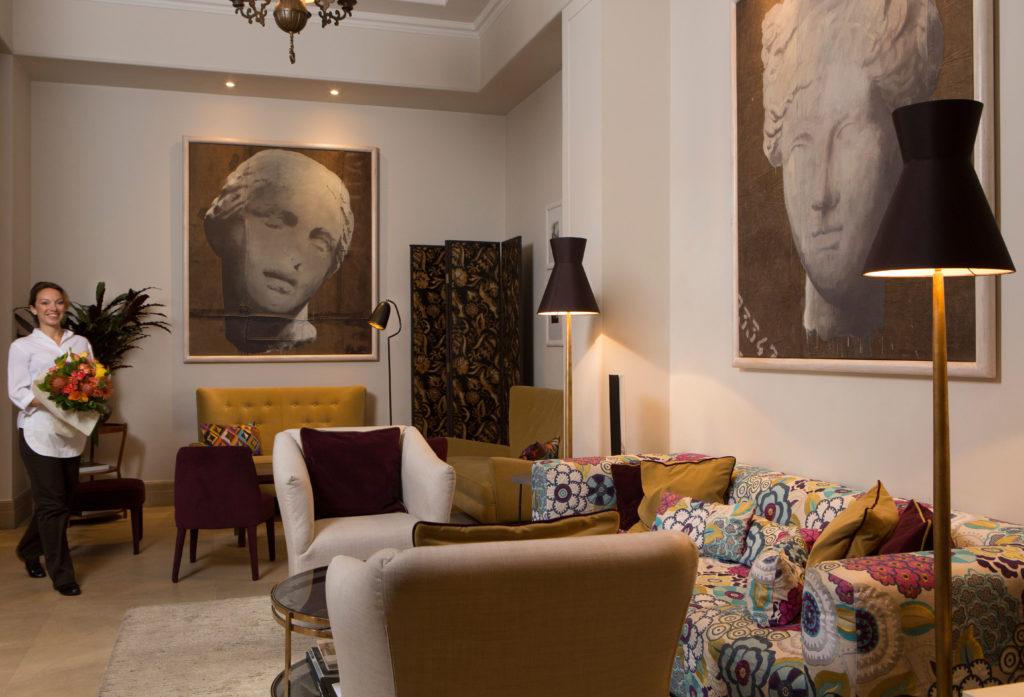 Sacoy, Florencie: nové lobby v designu Pucci