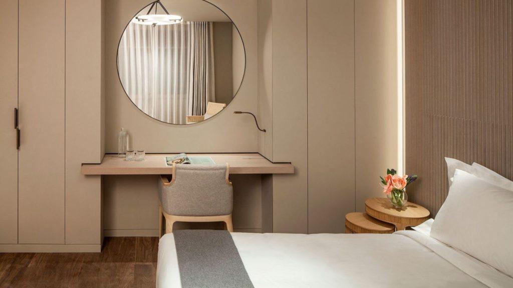 Lutetia, Paříž: v pokojích nahradil secesní rozbujelost moderní minimalismus