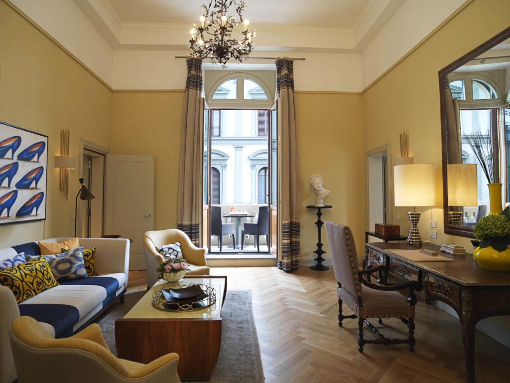 Savoy, Florencie: v každém pokoji zůstáváte v centru dění