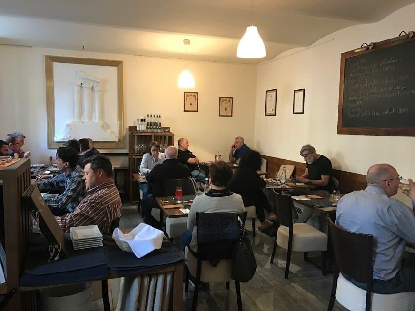 Restaurace Olimpia v Budapešti