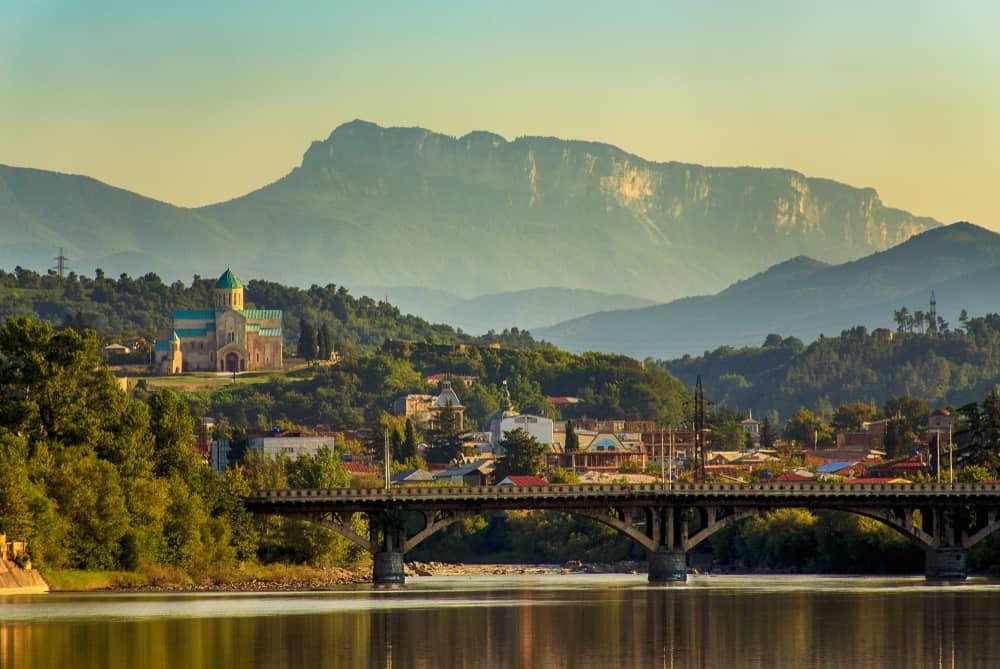 Kutaisi - bývalé hlavní město Gruzie