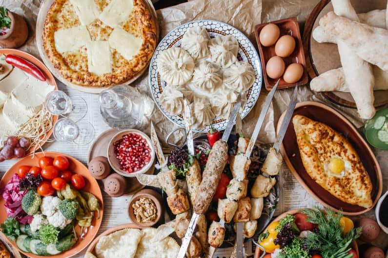 Tradiční gruzínské pokrmy