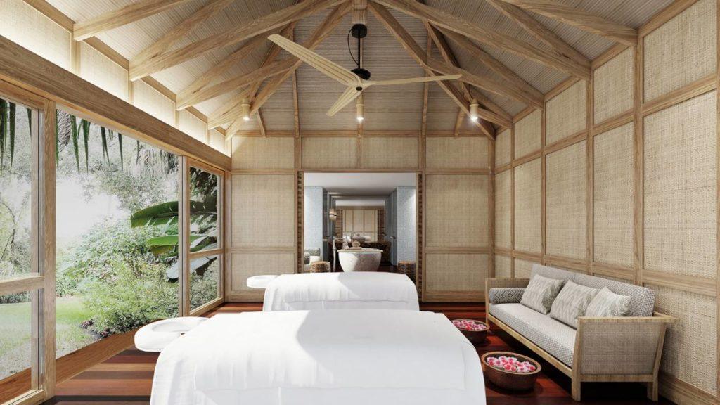 Four Seasons Desroches Island, Seychely, spa