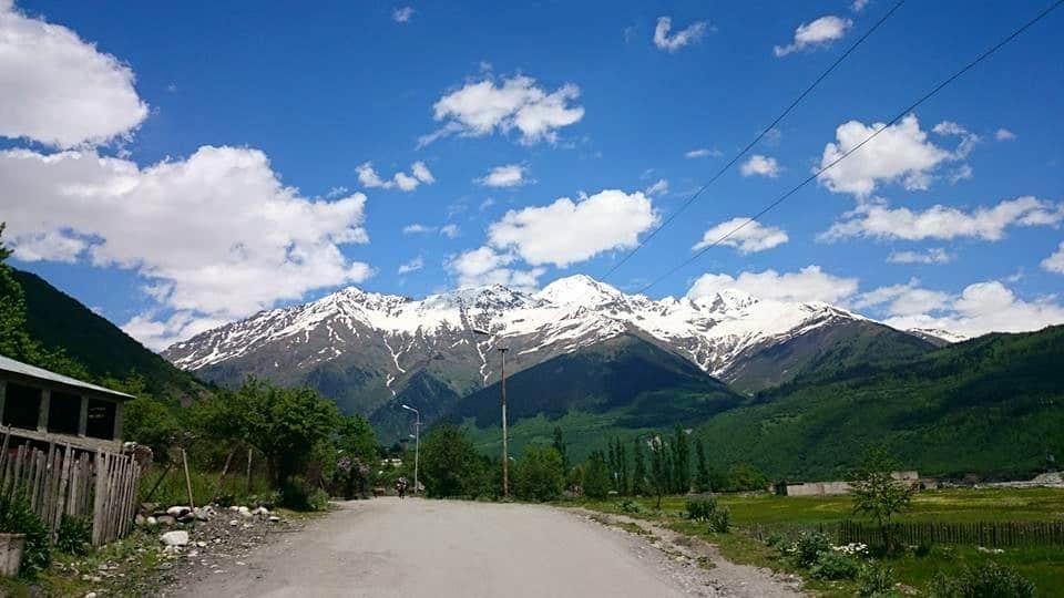 Výhled na Kavkaz