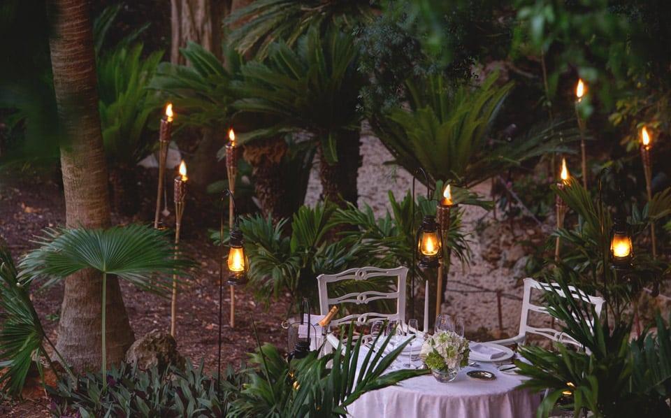 Rosewood Bermuda, večeře ve dvou