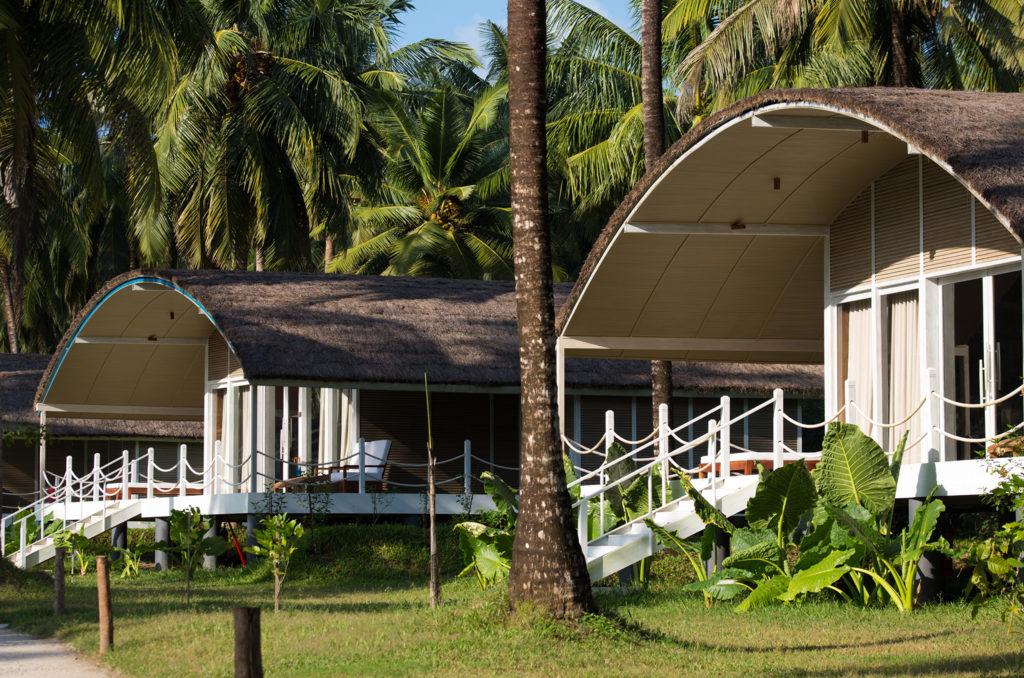 Taj Exotica, Andamanské ostrovy: vily