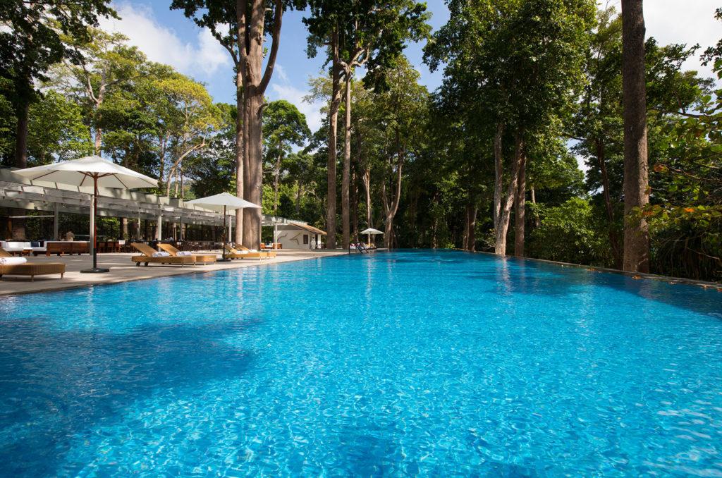 Taj Exotica, Andamanské ostrovy: bazén