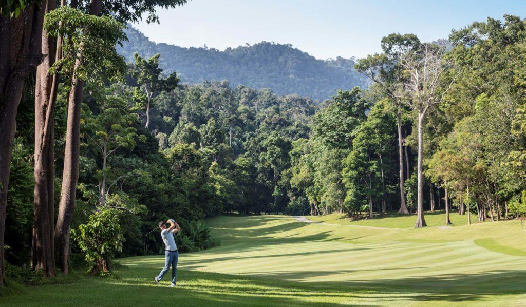 Datai Langkawi, Malajsie: golf