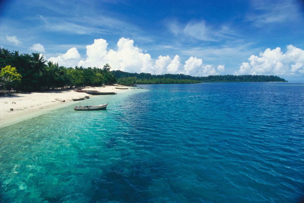 Taj, Andamanské ostrovy