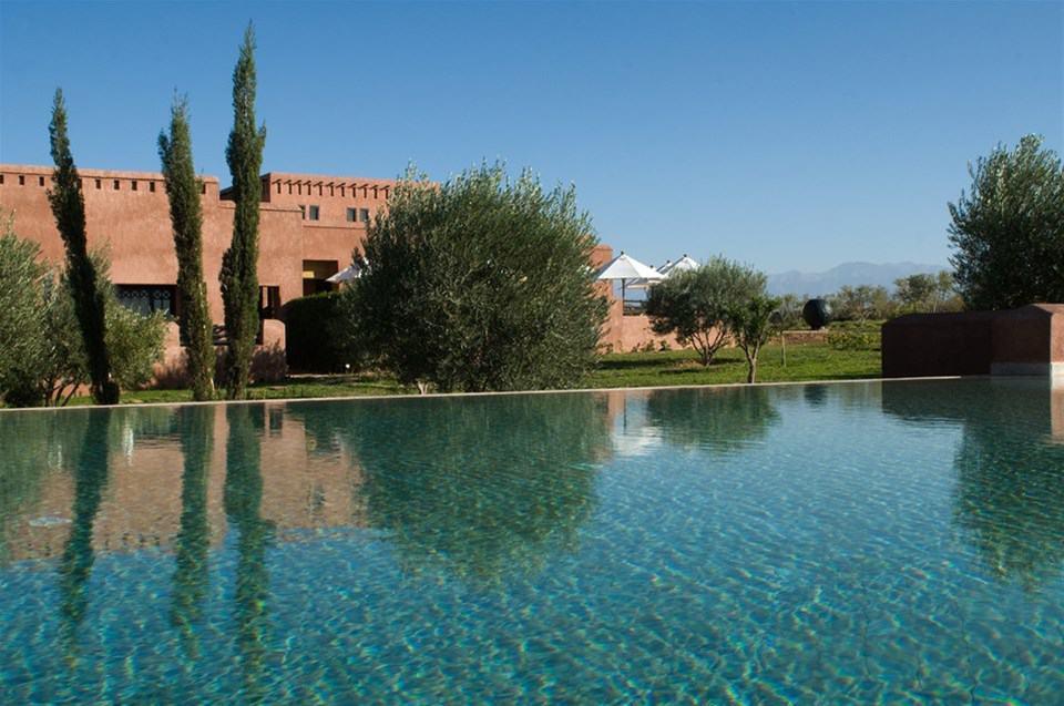 Grace, Marakéš, Maroko: bazén