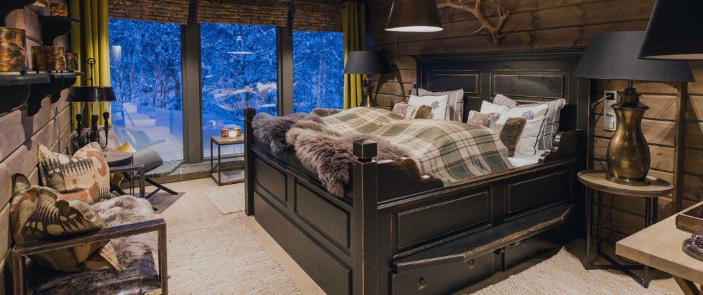 Wolf Lodge, Norsko: k dispozici jsou tři ložnice