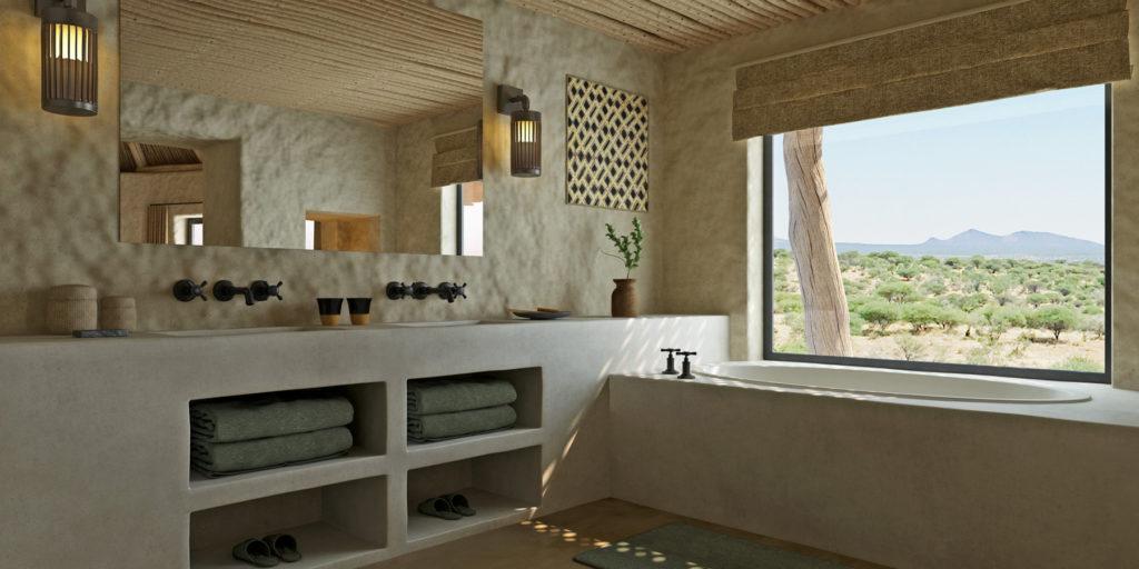 Omaanda, Namibie: koupelna