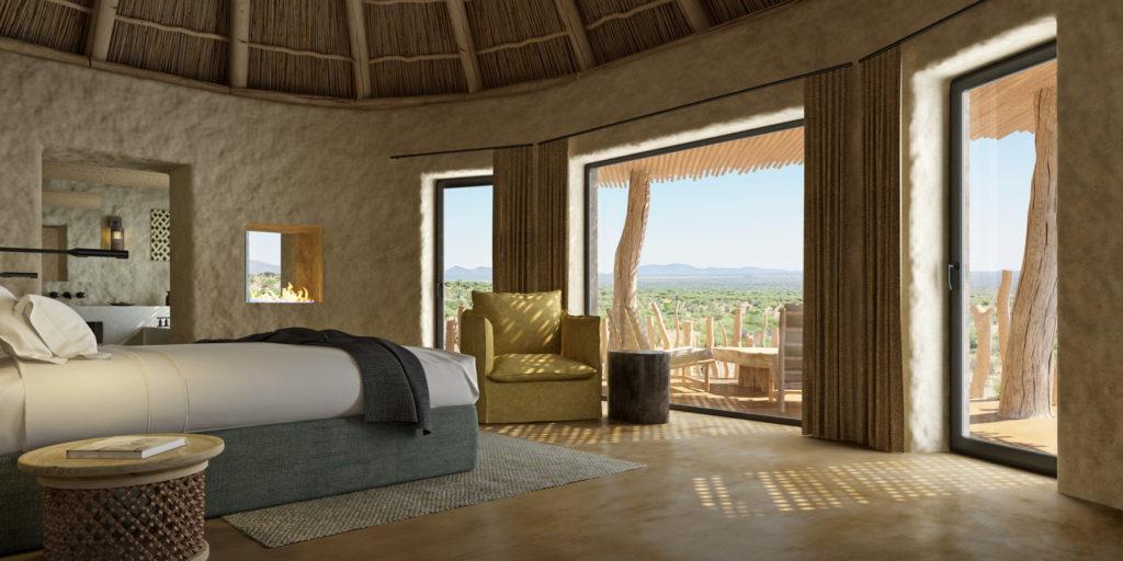 Omaanda, Namibie: ložnice