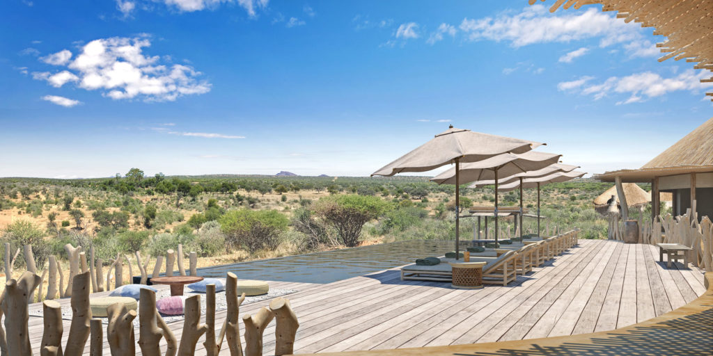 Omaanda, Namibie: terasa