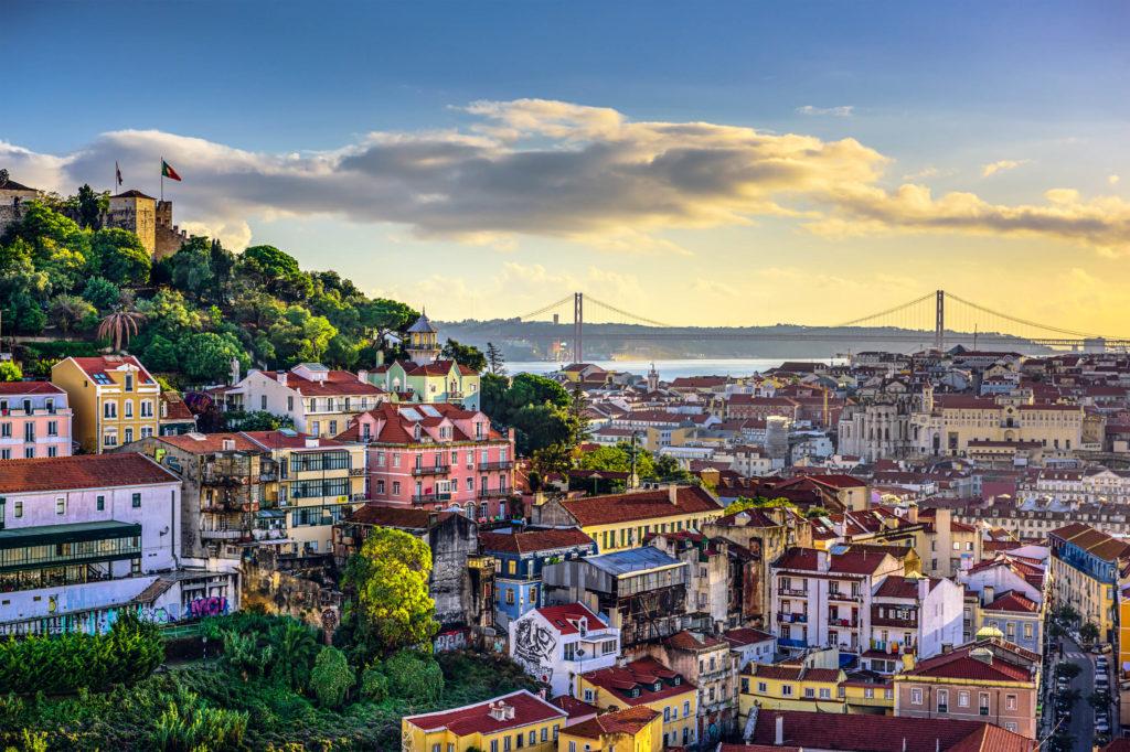 Pohled na Lisabon